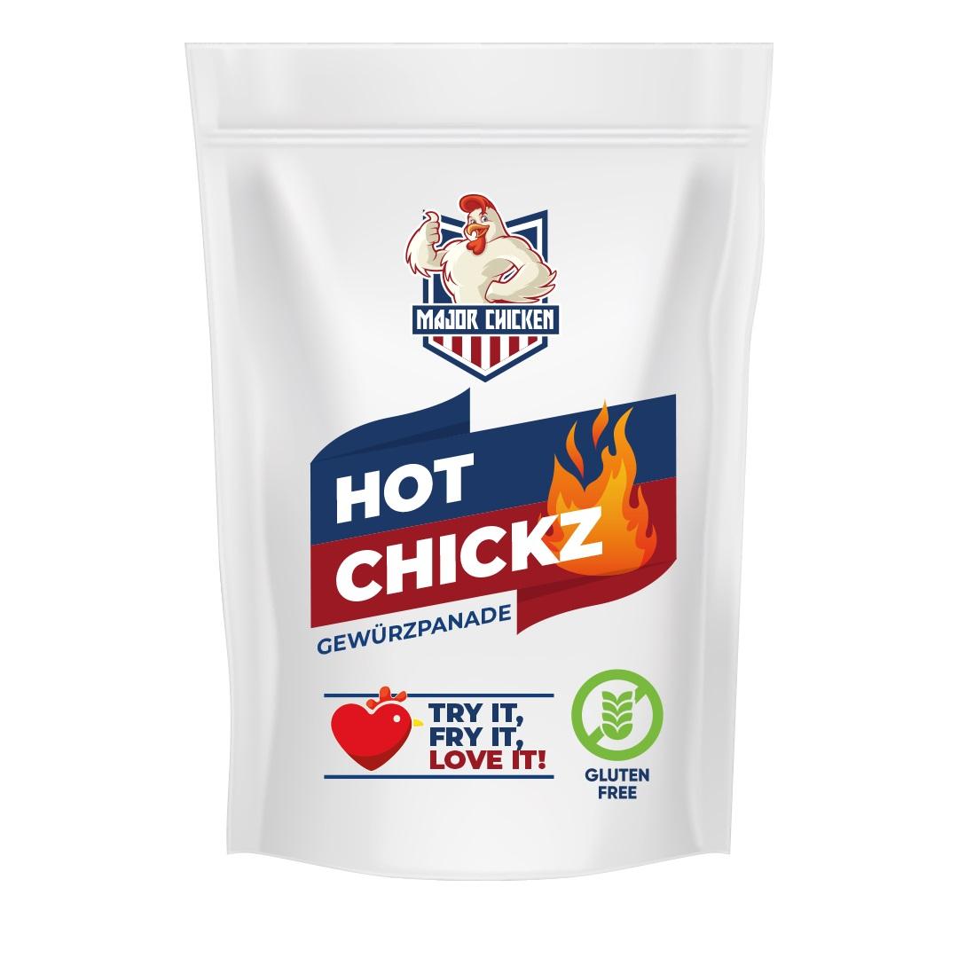 """Major Chicken - """"Hot Chickz"""" 220g"""