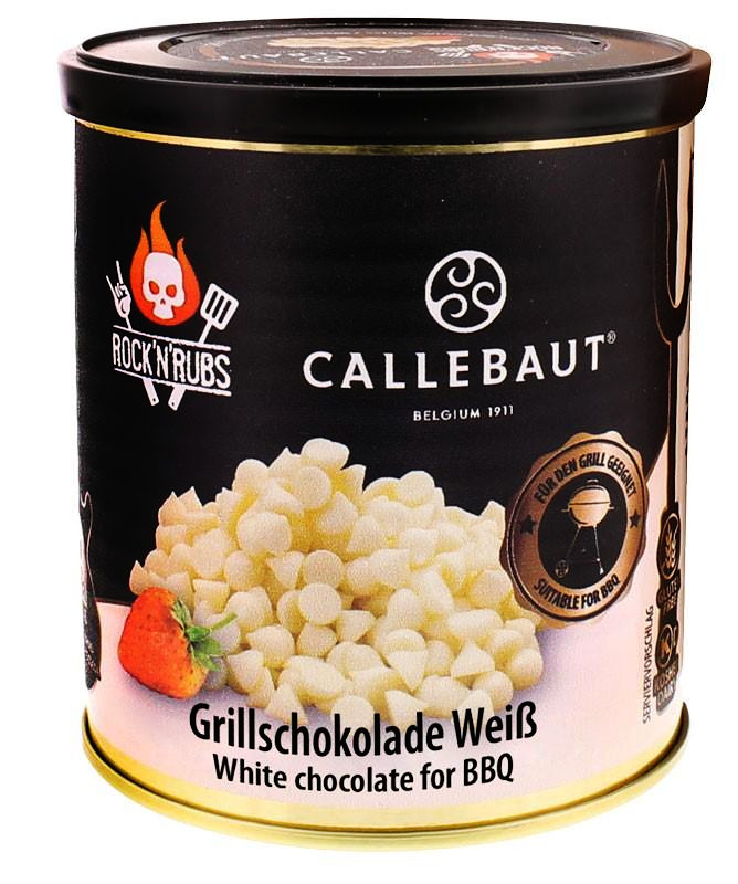 Rock´n Rubs Callebaut Grillschokolade Weiß 200g Dose
