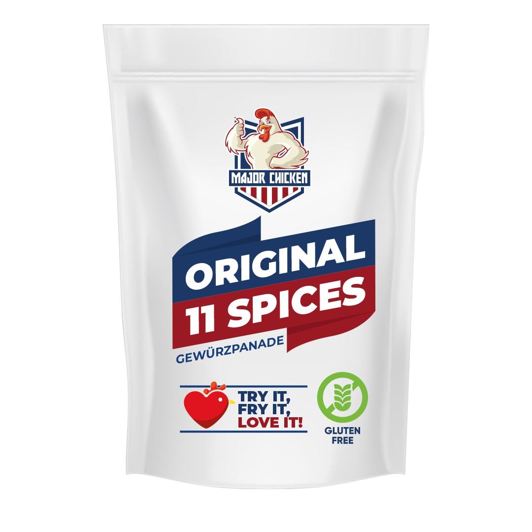 "Major Chicken - ""Original 11 Spices"" 220g"