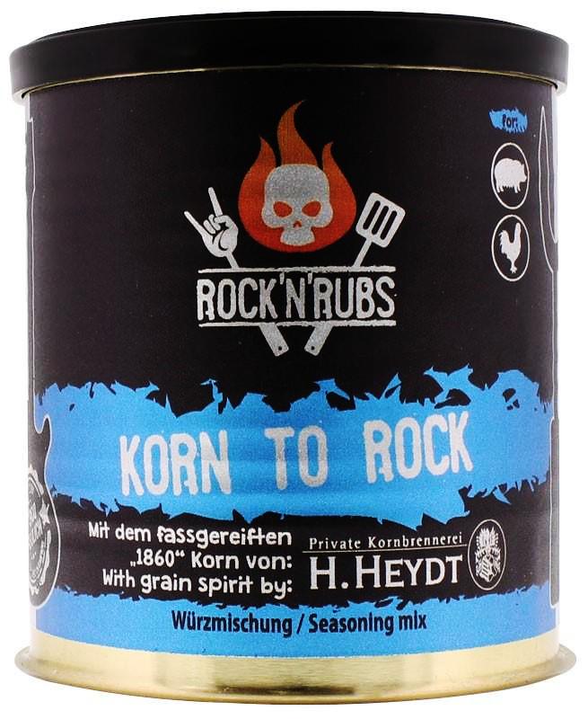 Rock´n Rubs Korn to Rock 130g Dose