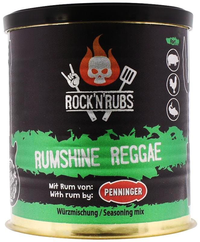 Rock´n Rubs Rumshine Reggae 90g Dose