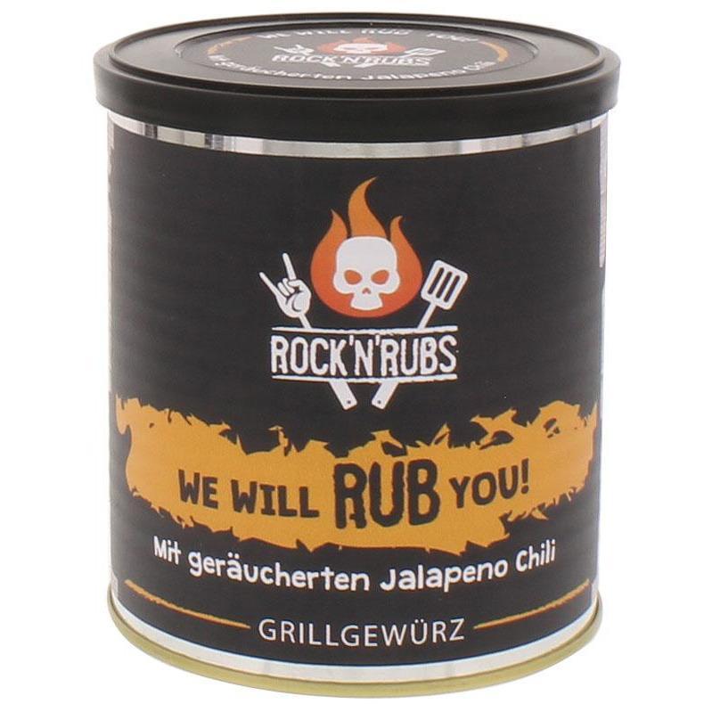 Rock´n Rubs We will Rub you! 140g Dose